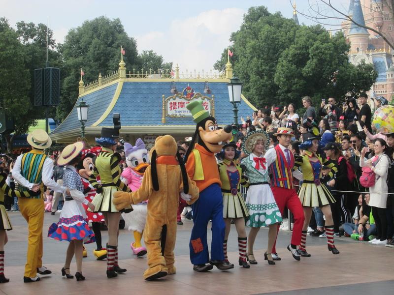 [TR] Shangaï express ! Une journée Disney au milieu d'un voyage d'affaire :) 2017-s74