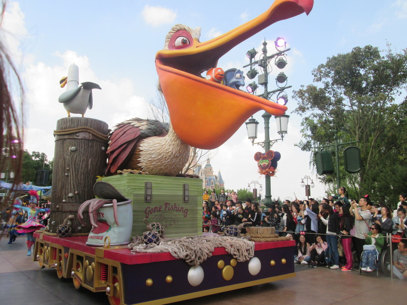 [TR] Shangaï express ! Une journée Disney au milieu d'un voyage d'affaire :) 2017-s84