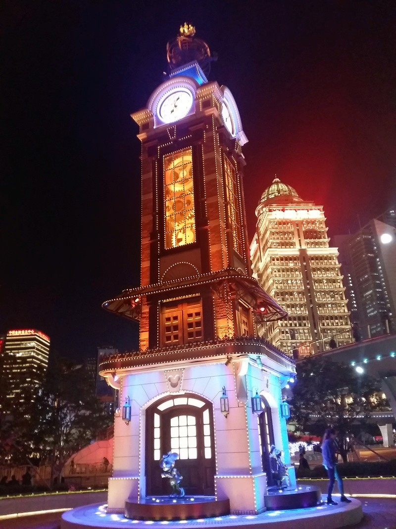 [TR] Shangaï express ! Une journée Disney au milieu d'un voyage d'affaire :) 20171014
