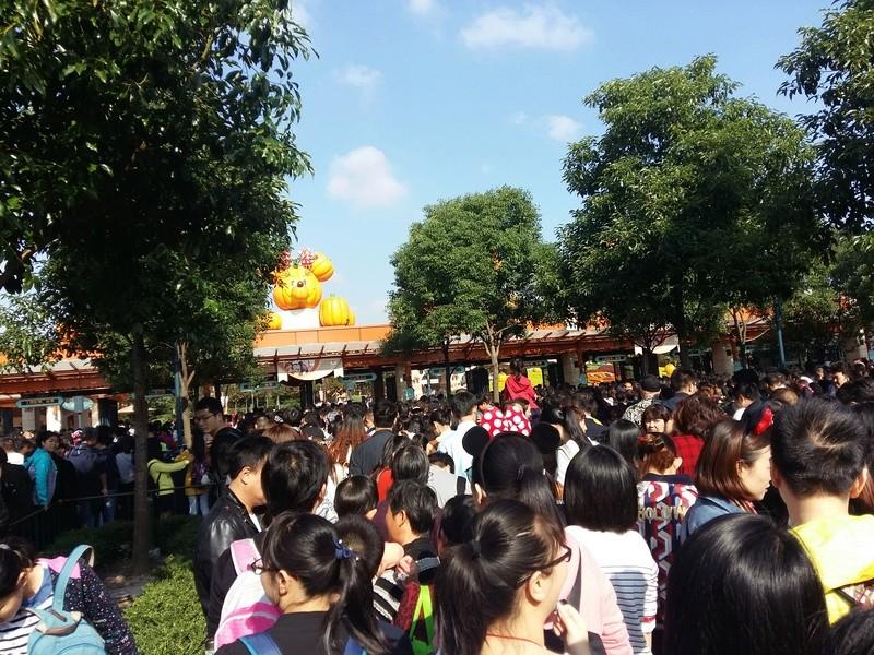 [TR] Shangaï express ! Une journée Disney au milieu d'un voyage d'affaire :) 20171017