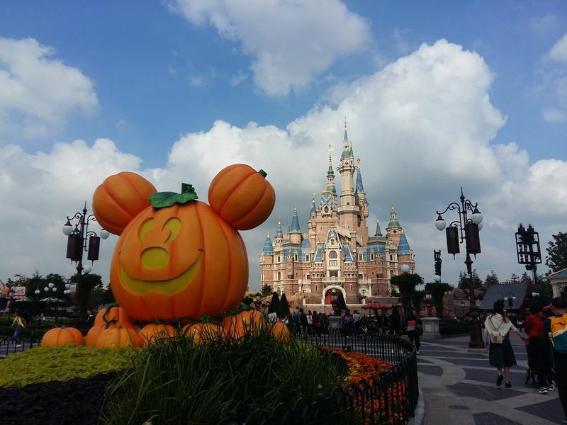 [TR] Shangaï express ! Une journée Disney au milieu d'un voyage d'affaire :) 20171018