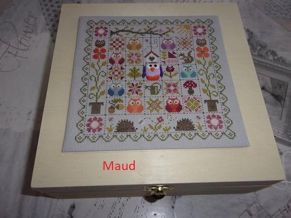 SAL patchwork aux chouettes jardin privé Maud13