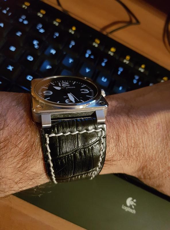 Un bracelet que j'aime bien sur ma BR03 20171110