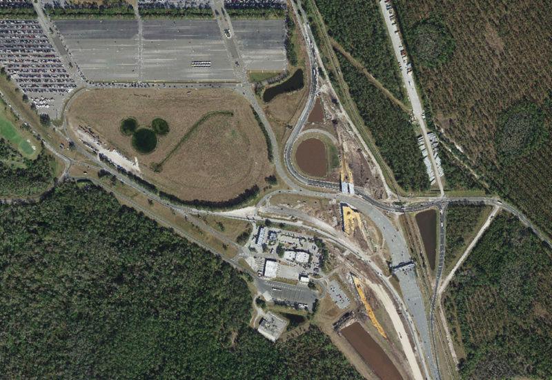 [Magic Kingdom] Nouveaux accès routiers au parc et modifications du parking Mkentr10