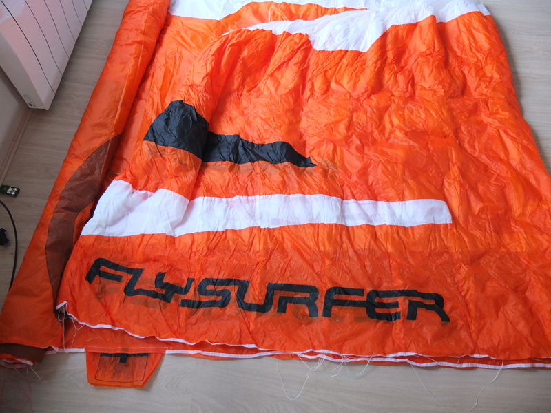 VENDUE Flysurfer Speed5 15m² entre 15 et 20 sorties max.  Dscf9129