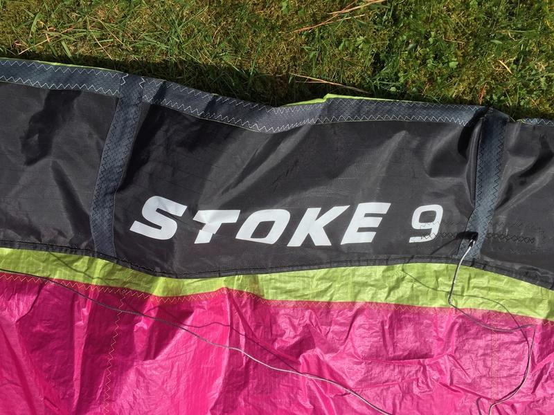 Flysurfer Stoke 9m comme neuve 8 sorties 600€ Img_2518