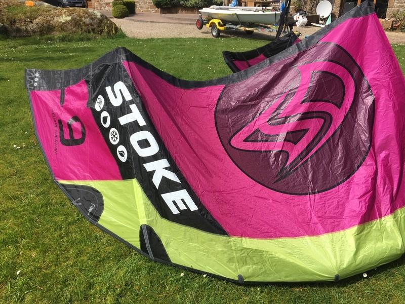 Flysurfer Stoke 9m comme neuve 8 sorties 600€ Img_2519