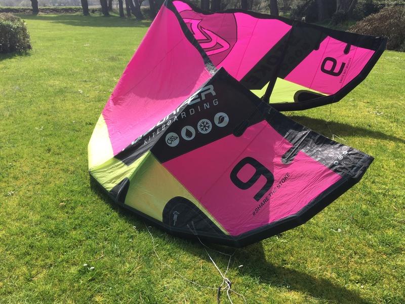 Flysurfer Stoke 9m comme neuve 8 sorties 600€ Img_2524