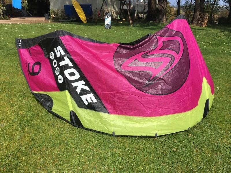Flysurfer Stoke 9m comme neuve 8 sorties 600€ Img_2531