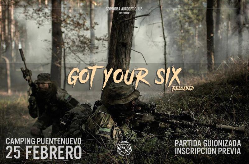 GOT YOUR SIX RELOADED | 25 FEBRERO | Camping Puente Nuevo (Villaviciosa) Gysrel11