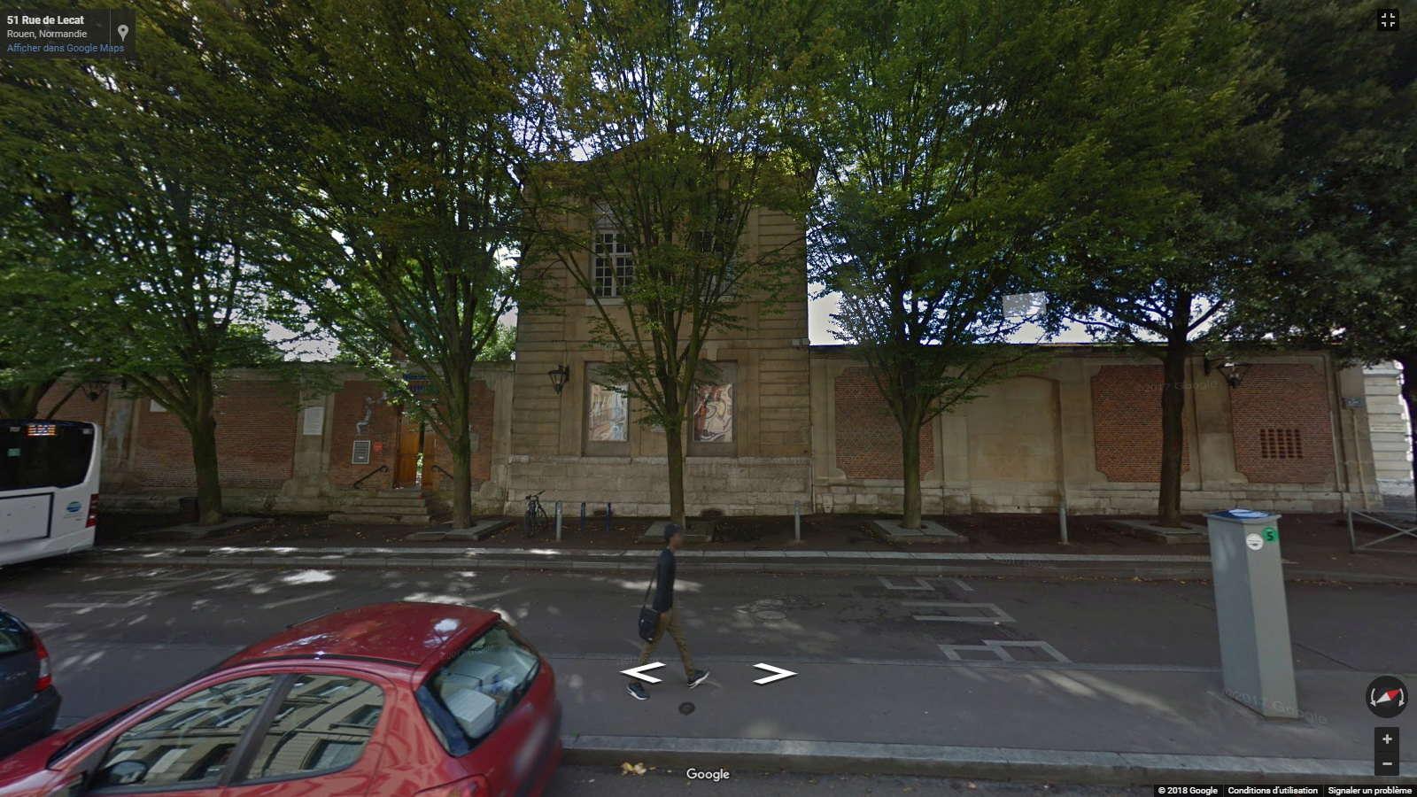 """Maisons natales des """"grandes figures"""" repérées dans Google Earth - Page 5 Flaube10"""
