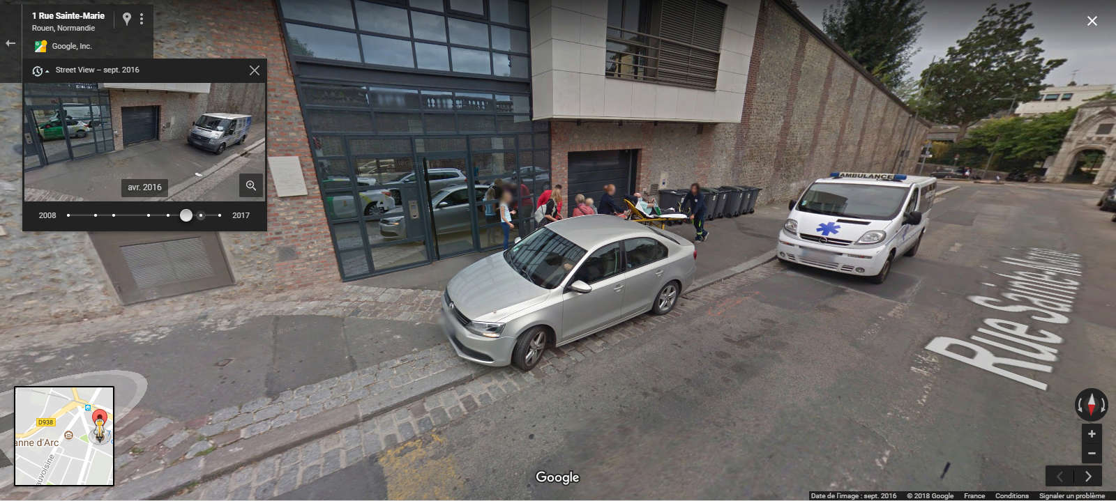 STREET VIEW : reflets de Google-Car Fontai10