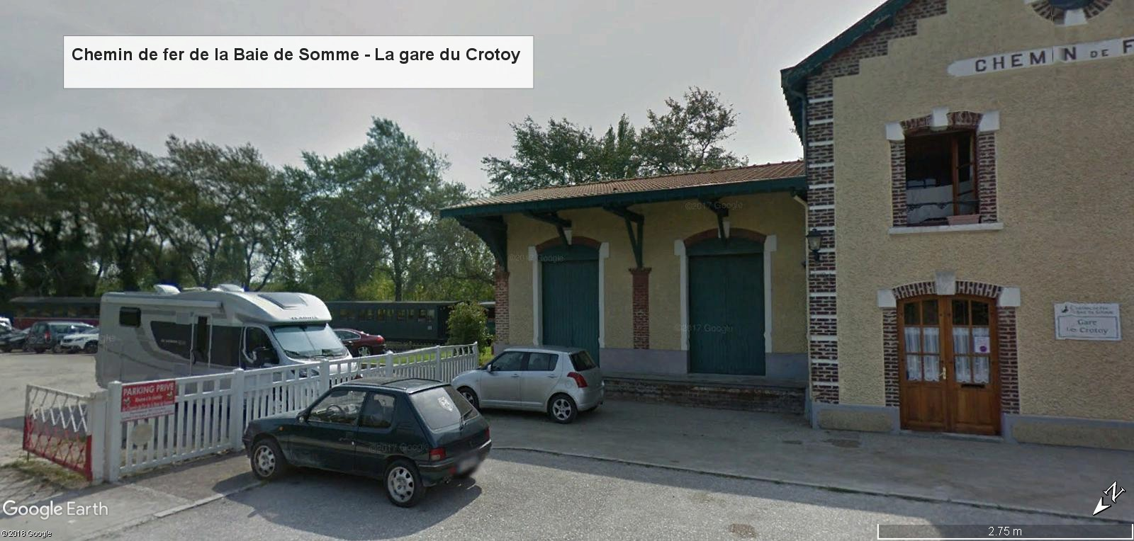 STREET VIEW : les petits trains touristiques - Page 2 Gare_c10