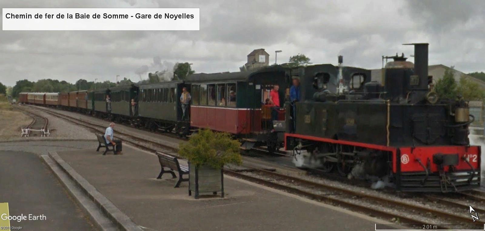 STREET VIEW : les petits trains touristiques - Page 2 Gare_n12