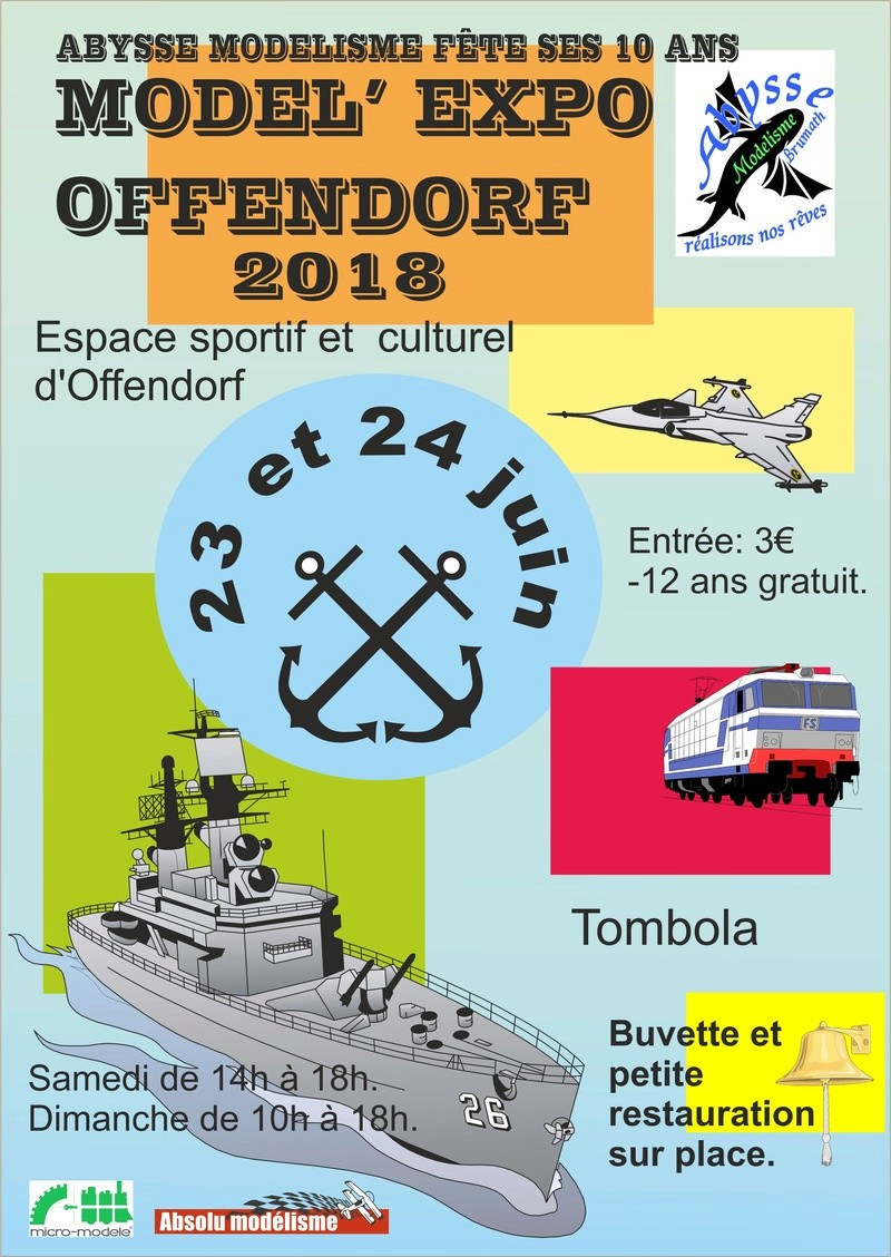 Model'Expo Offendorf 2018 Affich11