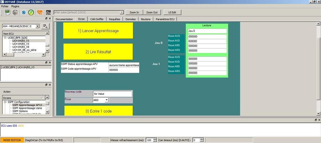 Entrer le code valve manuellement Apv10