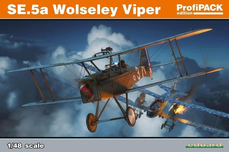 Ouvre boite : le RAF SE 5a Hispano Suiza et Woseley Viper - Eduard - 1/48ème. 82131_13