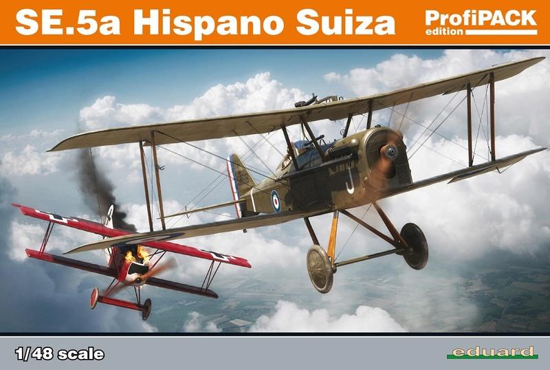 Ouvre boite : le RAF SE 5a Hispano Suiza et Woseley Viper - Eduard - 1/48ème. 82132_12