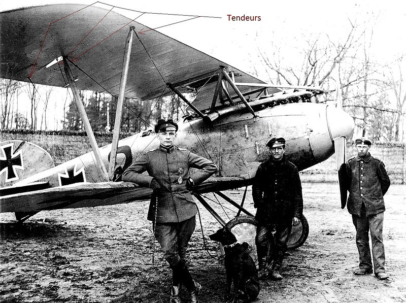 [cage à poules ] - Albatros D III - Eduard - 1/48ème. Terminé - Page 2 Albatr11
