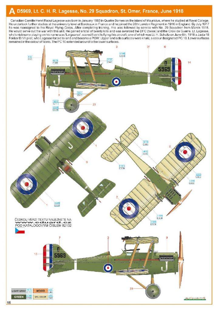 Ouvre boite : le RAF SE 5a Hispano Suiza et Woseley Viper - Eduard - 1/48ème. Eduard11