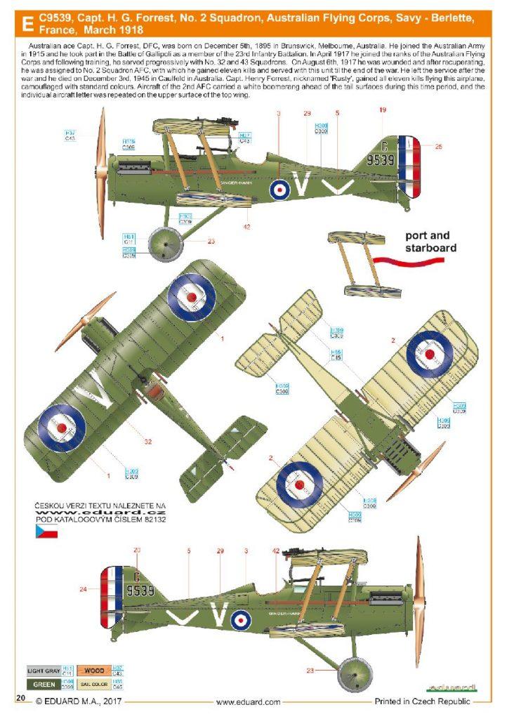 Ouvre boite : le RAF SE 5a Hispano Suiza et Woseley Viper - Eduard - 1/48ème. Eduard13