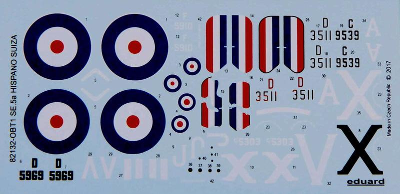 Ouvre boite : le RAF SE 5a Hispano Suiza et Woseley Viper - Eduard - 1/48ème. Eduard16
