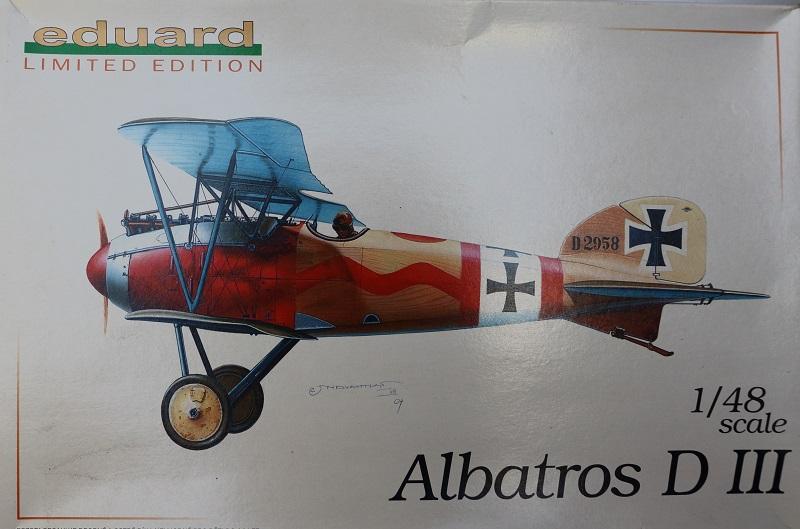 [cage à poules ] - Albatros D III - Eduard - 1/48ème. Terminé Img_3410