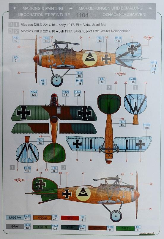 [cage à poules ] - Albatros D III - Eduard - 1/48ème. Terminé Img_3512