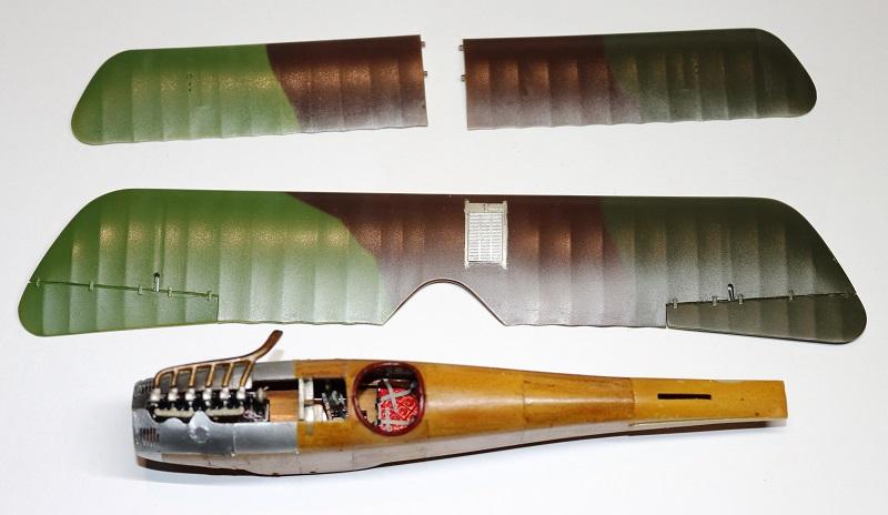 [cage à poules ] - Albatros D III - Eduard - 1/48ème. Terminé Img_3617