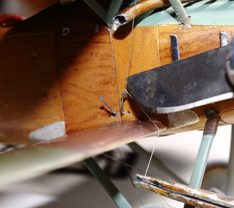 [cage à poules ] - Albatros D III - Eduard - 1/48ème. Terminé - Page 2 Img_3723