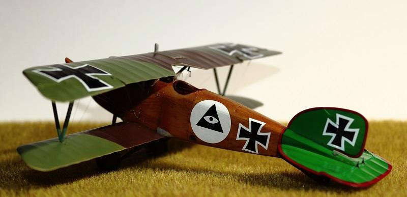 [cage à poules ] - Albatros D III - Eduard - 1/48ème. Terminé - Page 2 Img_3728
