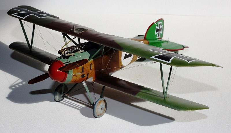 [cage à poules ] - Albatros D III - Eduard - 1/48ème. Terminé - Page 2 Img_3730