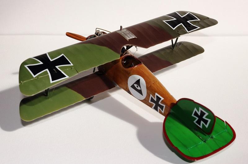 [cage à poules ] - Albatros D III - Eduard - 1/48ème. Terminé - Page 2 Img_3731