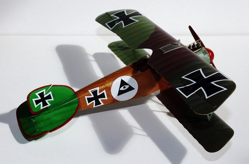 [cage à poules ] - Albatros D III - Eduard - 1/48ème. Terminé - Page 2 Img_3733