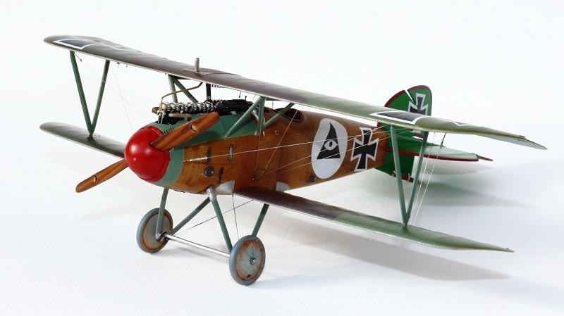[cage à poules ] - Albatros D III - Eduard - 1/48ème. Terminé - Page 2 Img_3735