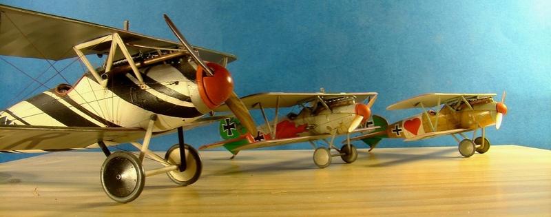 [cage à poules ] - Albatros D III - Eduard - 1/48ème. Terminé Trio_210