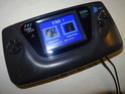 [VDS] Game Gear avec nouvel écran LCD McWill, sortie VGA et 2 ports manette Dsc05818