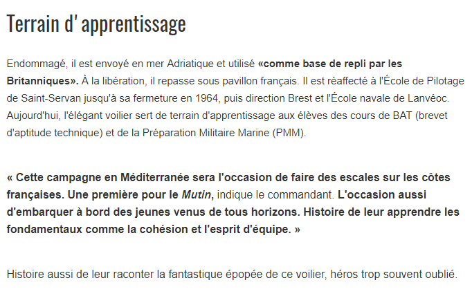 LE MUTIN (BE) - Page 8 Mutin312