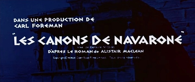 Les Canons de Navarone (J. Lee Thompson, 1961) Navaro10