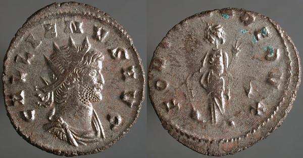 Gallienus FORTVNA REDVX Erf_ri10