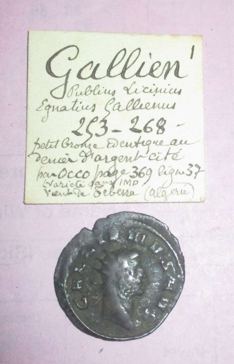 A Gallienus coin from Algeria Gall0110