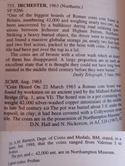 Victorinus from Irchester hoard Irches10