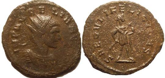 Probus or Aurelianus? An imitative antoninianus. Ric_0310