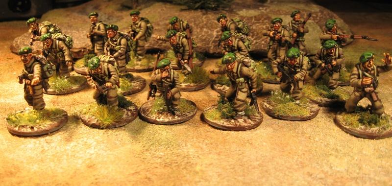 Commandos britons Berets10