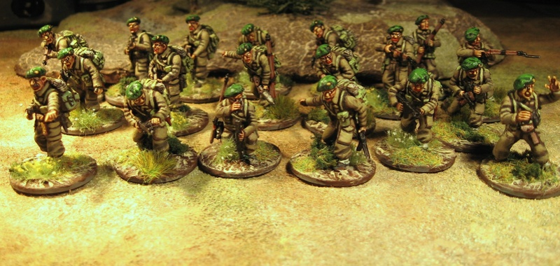 Commandos britons Berets13