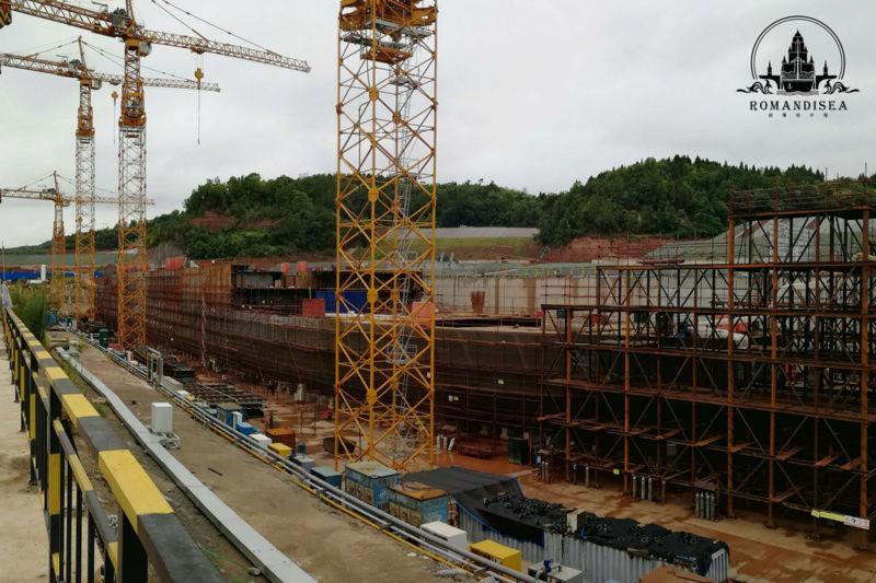 Construction d'une réplique du Titanic en Chine - Page 5 Chanti11