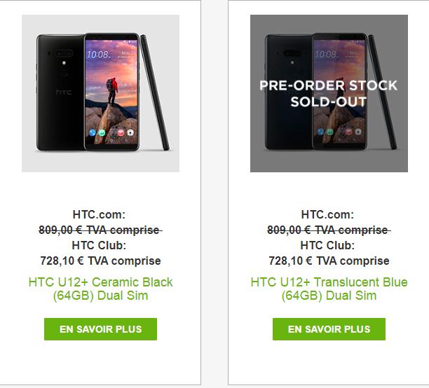 [INFO] Comment avoir 10 % sur le nouveau HTC u12+ Htc_u110