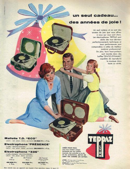 Les tournes-disques TEPPAZ Tumblr20