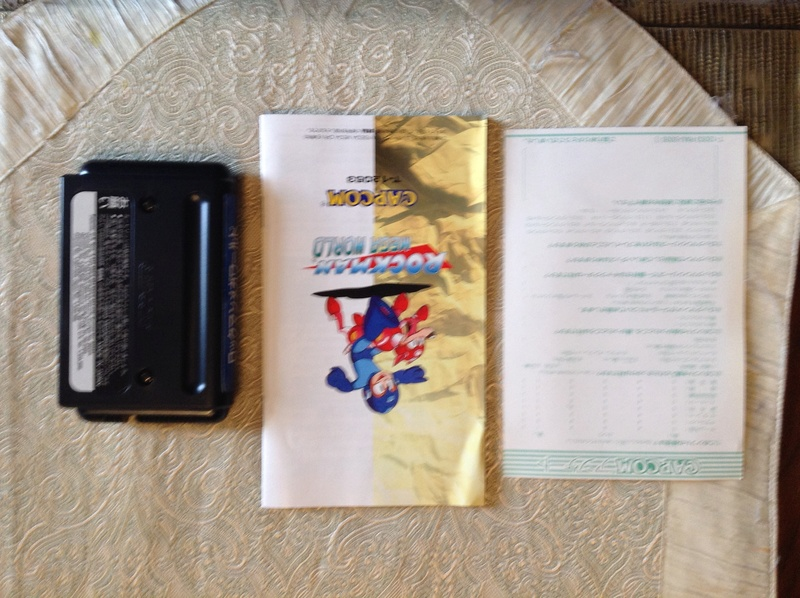 (VDS) Rockman Mega World Mega Drive Jap Img_2812