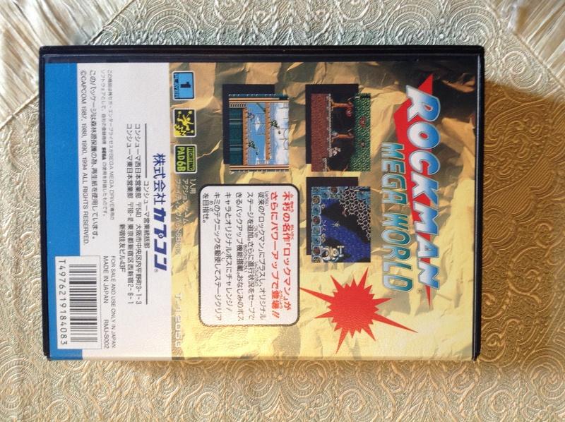 (VDS) Rockman Mega World Mega Drive Jap Img_2813